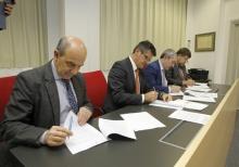 convenio con el Centro Vasco de Matemáticas Aplicadas (BCAM) y la Fundación Tecanalia