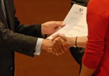 Entrega de diplomas de la Facultad de Química